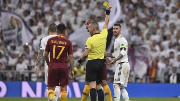 Серхио Рамос установил рекорд Лиги чемпионов по жёлтым карточкам