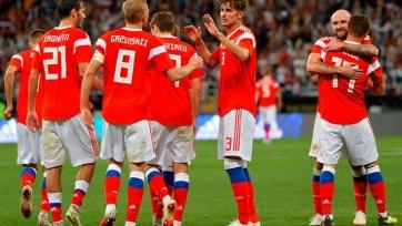 Сборная России снова поднялась в рейтинге ФИФА