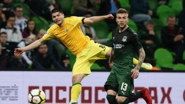 Официально: «Рубин» укрепил состав экс-игроком «Краснодара»
