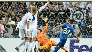 «Зенит» сыграл вничью с «Копенгагеном» в Лиге Европы