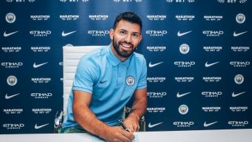 Официально: Агуэро продлил контракт с «Манчестер Сити»