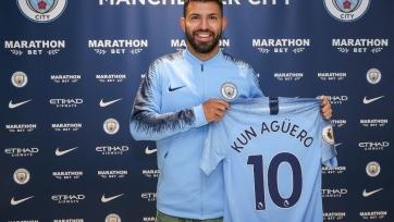 Агуэро прокомментировал продление контракта с «Ман Сити»