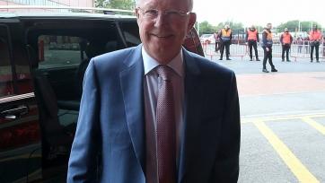 Сэр Алекс Фергюсон вернулся на «Олд Траффорд»