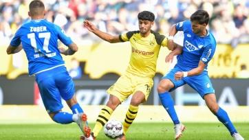 «Хоффенхайм» сыграл вничью с дортмундской «Боруссией», поражение «Вольфсбурга» и другие результаты матчей Бундеслиги