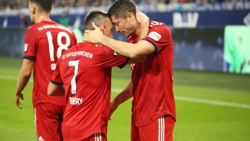 «Бавария» в гостях переиграла «Шальке»