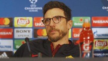 Если «Рома» проиграет «Лацио», Ди Франческо уволят