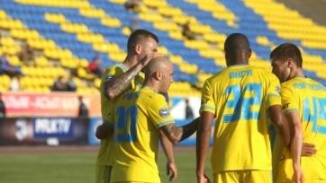 Ричард Алмейда забил свой первый гол за «Астану»