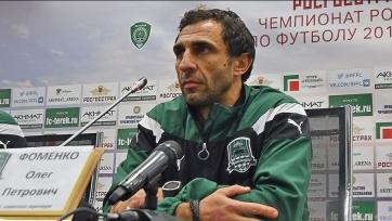 Фоменко прокомментировал успех «Краснодара» в матче с «Крыльями Советов»