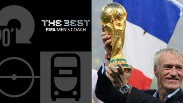 Дешам – тренер года по версии ФИФА
