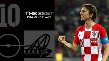 Модрич признан игроком года по версии ФИФА