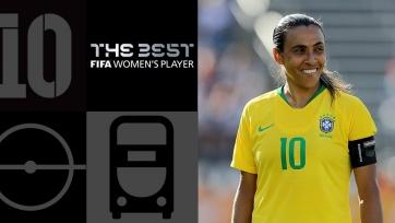 Марта – лучшая футболистка года по версии ФИФА