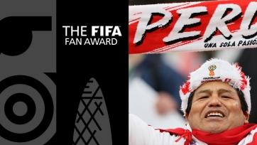 Фанаты сборной Перу признаны лучшими болельщиками года по версии ФИФА