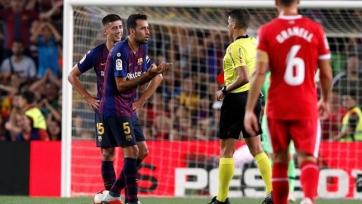 Новобранец «Барселоны» получил дисквалификацию