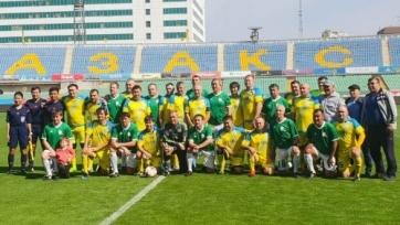 В Алматы был сыгран матч ветеранов казахстанского футбола