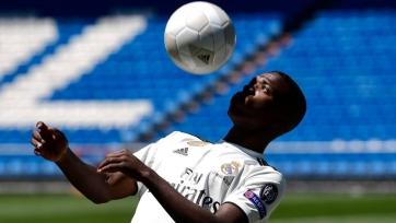 18-летний Винисиус попал в заявку «Реала» на матч против «Севильи»