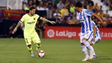 «Барселона» на выезде проиграла «Леганесу»