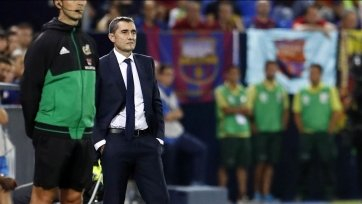 Вальверде отреагировал на поражение «Барселоны»