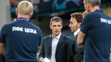 Гончаренко доволен тем, что ЦСКА будет играть в ЛЧ на арене «Лужники»