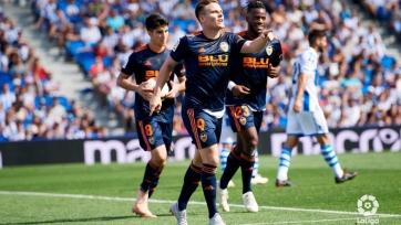 «Валенсия» одолела «Реал Сосьедад»