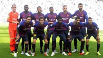 «Барселона» - «Атлетик». Стартовый состав каталонцев