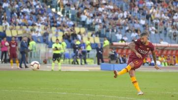 «Рома» выиграла в дерби с «Лацио»