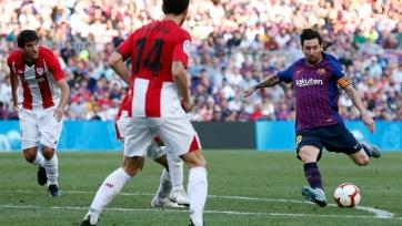 «Атлетик» отобрал очки у «Барселоны»