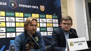 Карпин перед матчем РПЛ: «Для меня что «Сызрань», что «Спартак»