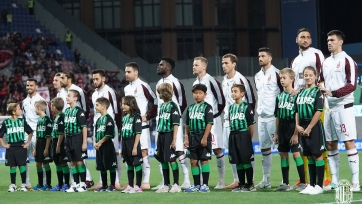 «Милан» на выезде одолел «Сассуоло»