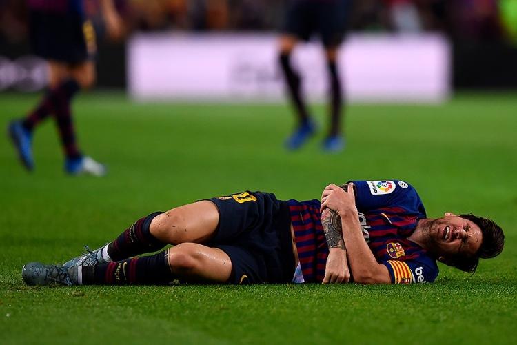 Травма Месси перед матчем с «Реалом»