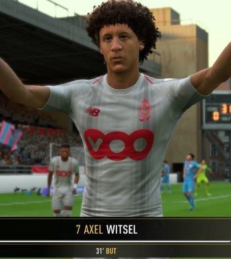 Витцель возмущен собой в FIFA 19