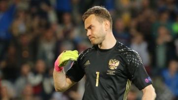Акинфеев попрощался со сборной России