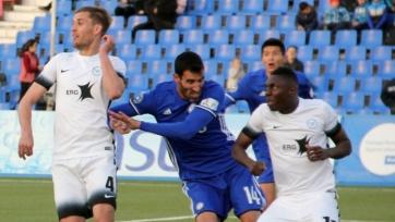 Фонтанелло сыграл юбилейный матч за «Ордабасы»