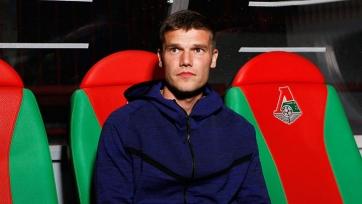 Чорлука и Денисов приняли участие в предматчевой тренировке «Локомотива»