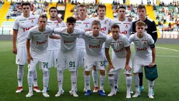 «Локомотив» U-19 сыграл вничью с «Шальке» U-19