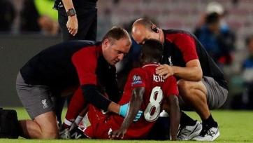 Кейта был госпитализирован после матча с «Наполи»