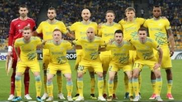 «Астана» - «Ренн»: стартовые составы