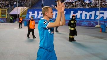 Анюков стал еврокубковым рекордсменом «Зенита»