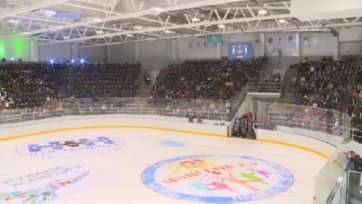 В Актобе открыли новый ледовый дворец