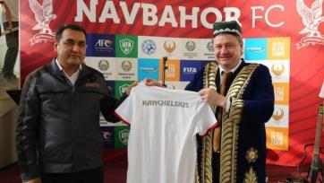 Канчельскис возглавил команду из Узбекистана