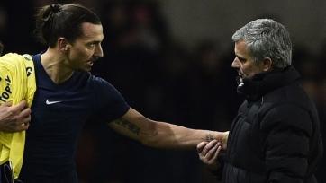 Ибрагимович: «Моуринью - правильный тренер для «Манчестер Юнайтед»