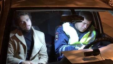 Игрок «Крыльев Советов» попался пьяным за рулем, норма алкоголя в крови была превышена втрое