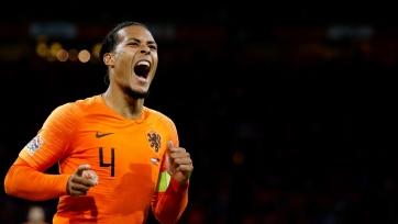 Ван Дейк из-за травмы покинул расположение сборной Нидерландов