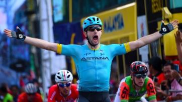 Гонщик «Астаны» стал шестым на третьем этапе «Тура Гуанси»