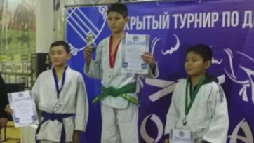 Юные степногорцы завоевали 9 наград на республиканском турнире по дзюдо