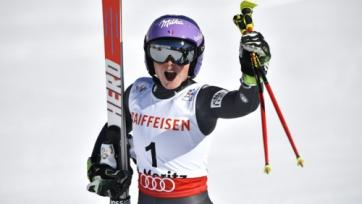 Горные лыжи. Ворли выиграла открытие сезона в Зольдене