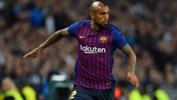«Барселона» - «Реал». Видео гола Видаля