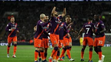 «Манчестер Сити» минимально обыграл «Тоттенхэм» на «Уэмбли»