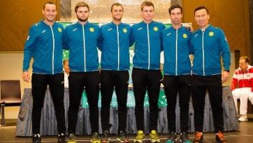 Теннисисты сборной Казахстана узнали соперника на первом этапе Кубка Дэвиса