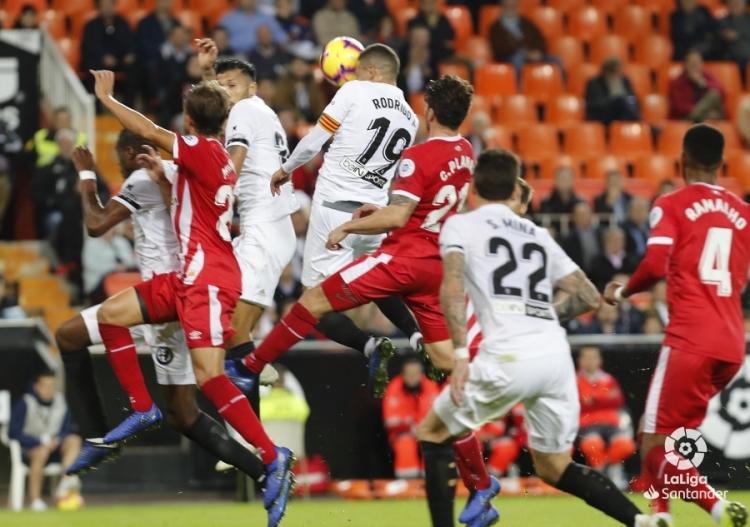 «Валенсия» - «Жирона» - 0:1. Видео гола и обзор матча
