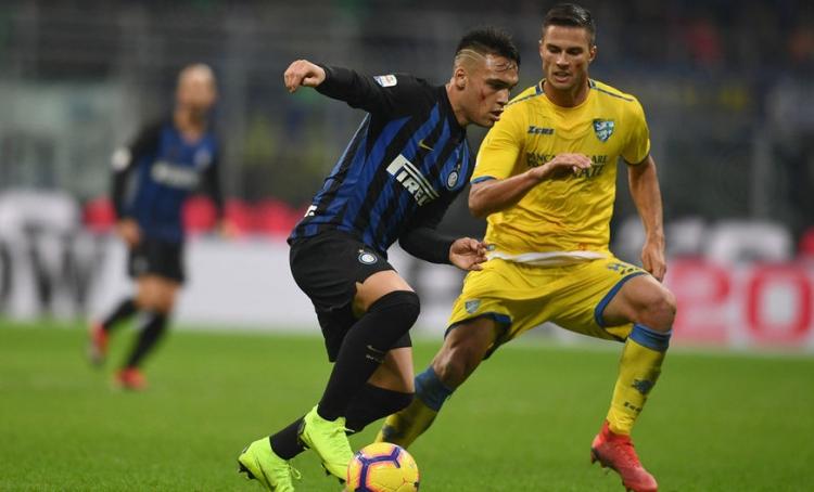 «Интер» - «Фрозиноне» - 3:0. 24.11.2018. Чемпионат Италии. Обзор и видео матча